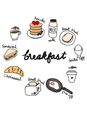 colazione sana, colazione dolce o colazione salata